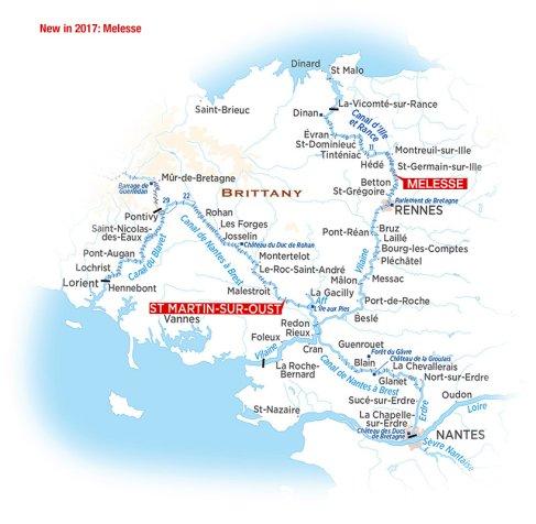 France Brittany Region Information Locaboat Holidays