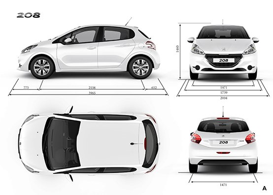 peugeot 208 models vehicle specifications. Black Bedroom Furniture Sets. Home Design Ideas