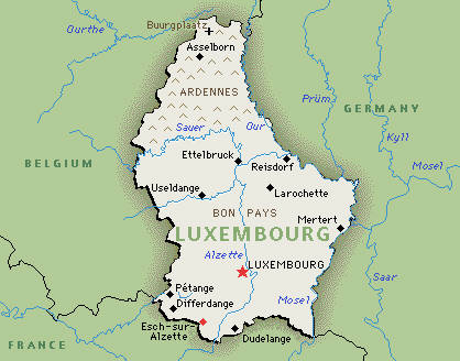 Car Rental Luxembourg Budget