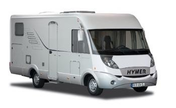 Hymer 574 on gps navigation system for europe
