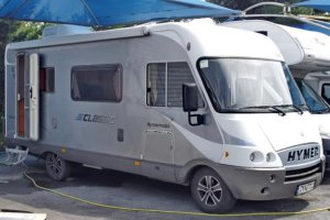 Hymer 544 Family Motorhome