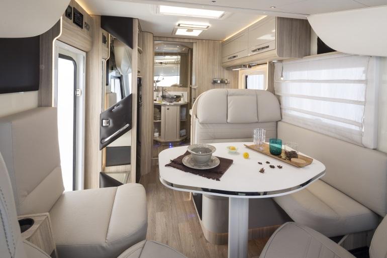 Just Go Motorhome 4 Berth Luxury Vehicle Information