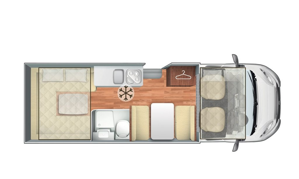 Motorhome Layouts 4 Berth With Fantastic Trend