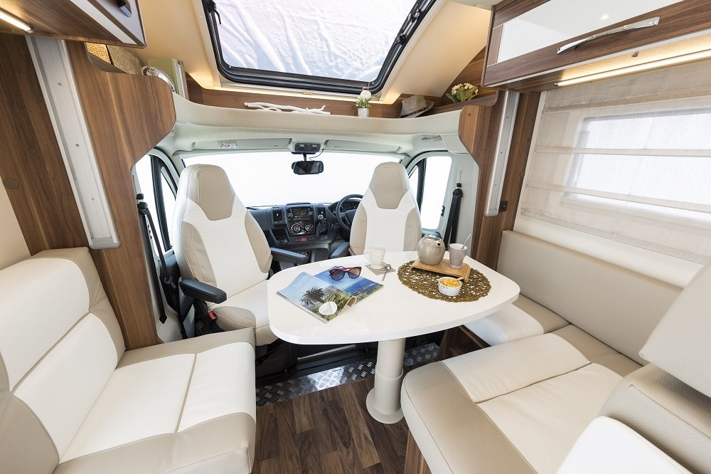 Conquest 4 Berth Motorhome Vehicle Information - Just Go
